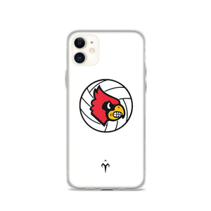 Louisville Volleyball iPhone Case