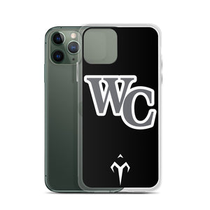 WC Lady Cougars Softball iPhone Case