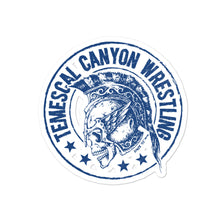 Temescal Canyon Wrestling Bubble-free stickers
