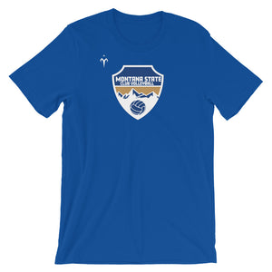 Montana State Volleyball Short-Sleeve Unisex T-Shirt