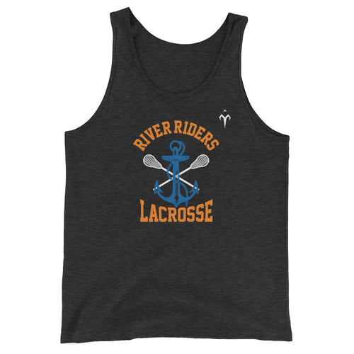 River Riders Lacrosse Unisex  Tank Top