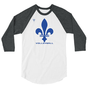 St. Louis Volleyball 3/4 sleeve raglan shirt