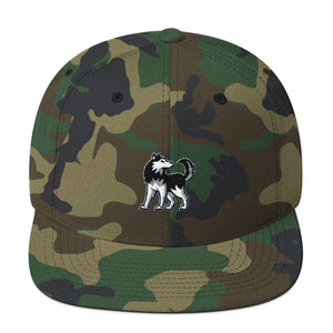 Hillside Huskies Wool Blend Snapback