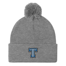 Tempe High School Track and Field Pom-Pom Beanie