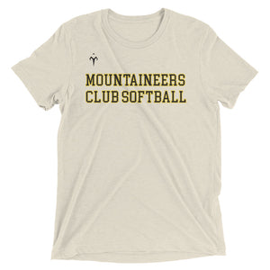 Mountaineers Club Softball Short sleeve t-shirt