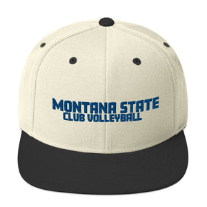 Montana State Club Volleyball Snapback Hat