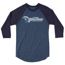 Utah Falconz 3/4 sleeve raglan shirt