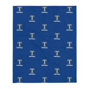 Tempe High School Football Throw Blanket