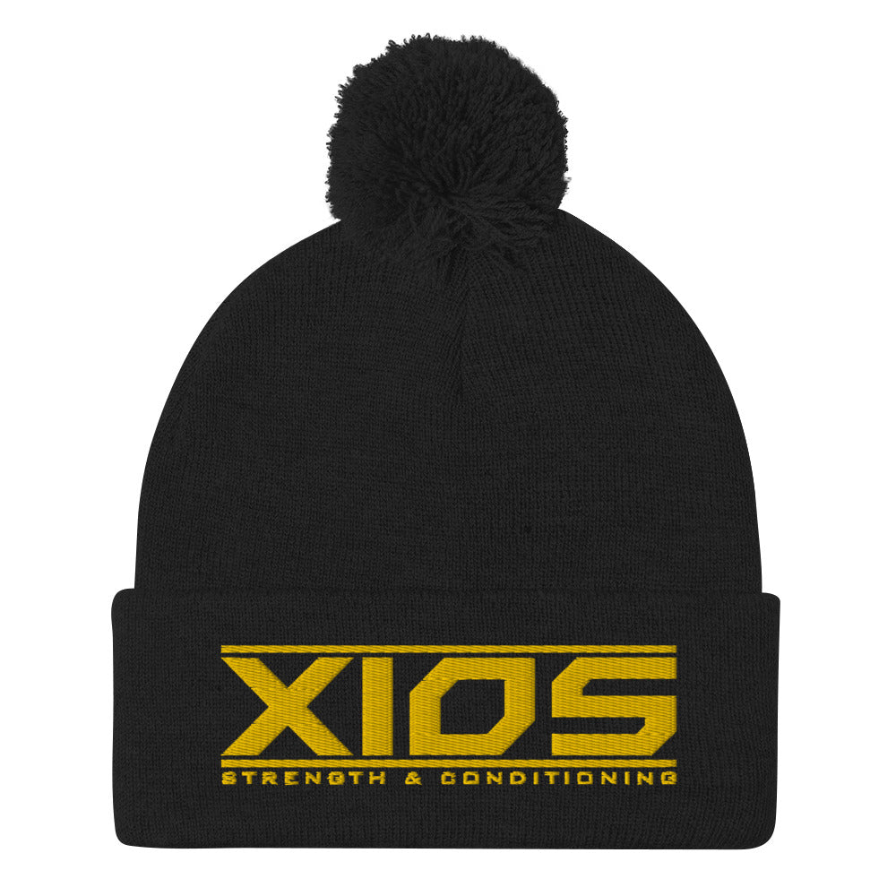 XIOS Strength & Conditioning Pom-Pom Beanie