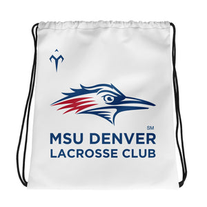 MSU Denver Lacrosse Club Drawstring bag