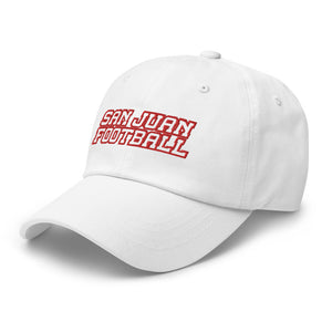 San Juan Football Dad hat