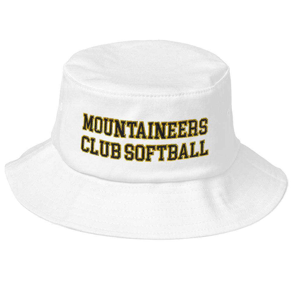 Mountaineers Club Softball Old School Bucket Hat