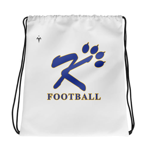 Kingman Football Drawstring bag