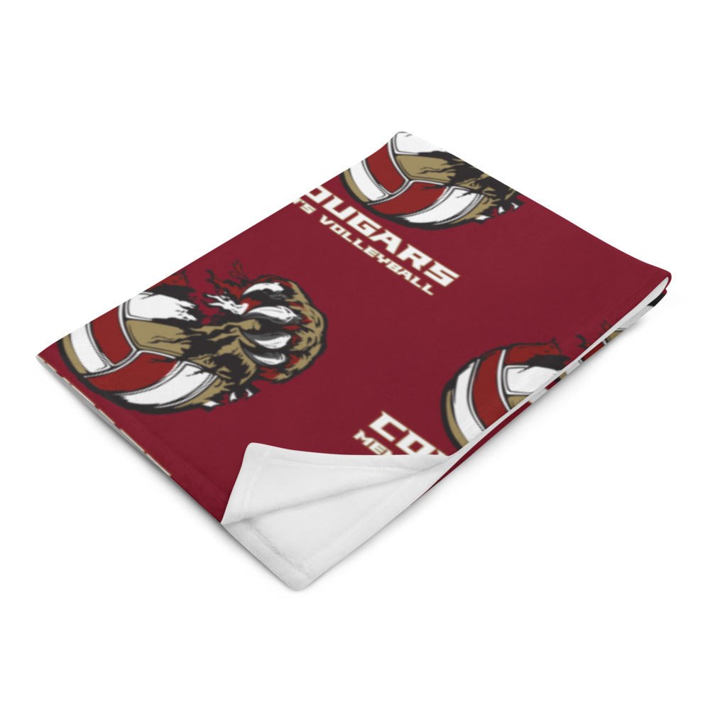 CofC Men's Volleyball Throw Blanket