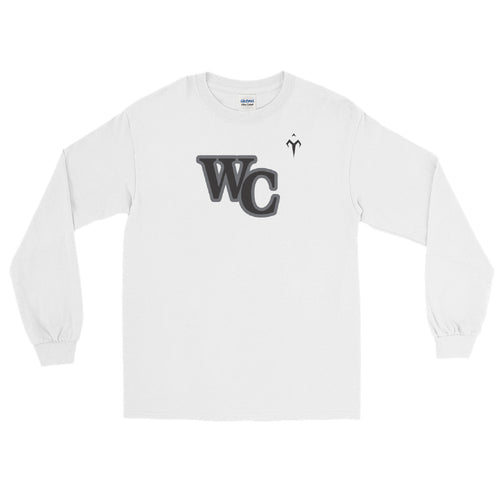 WC Lady Cougars Softball Men's Long Sleeve Shirt