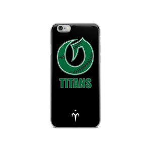 Olympus Softball Black iPhone Case