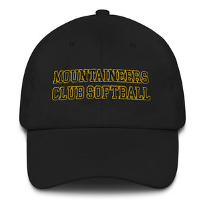 Mountaineers Club Softball Dad hat