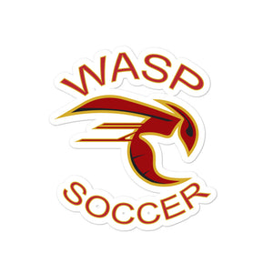 Wasp Soccer Bubble-free stickers