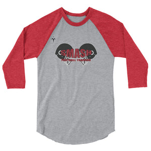 Smash Football 3/4 sleeve raglan shirt