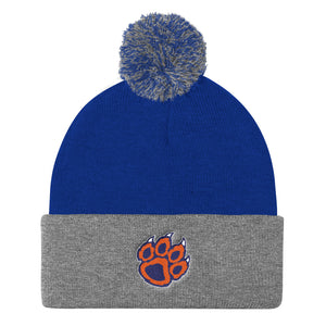 Brighton Softball Pom Pom Knit Cap