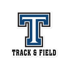 Tempe High School Track and Field Bubble-free stickers