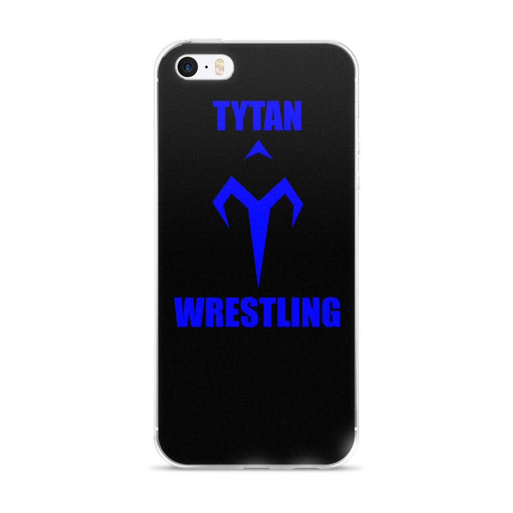 Blue Tytan Wrestling iPhone 5/5s/Se, 6/6s, 6/6s Plus Case