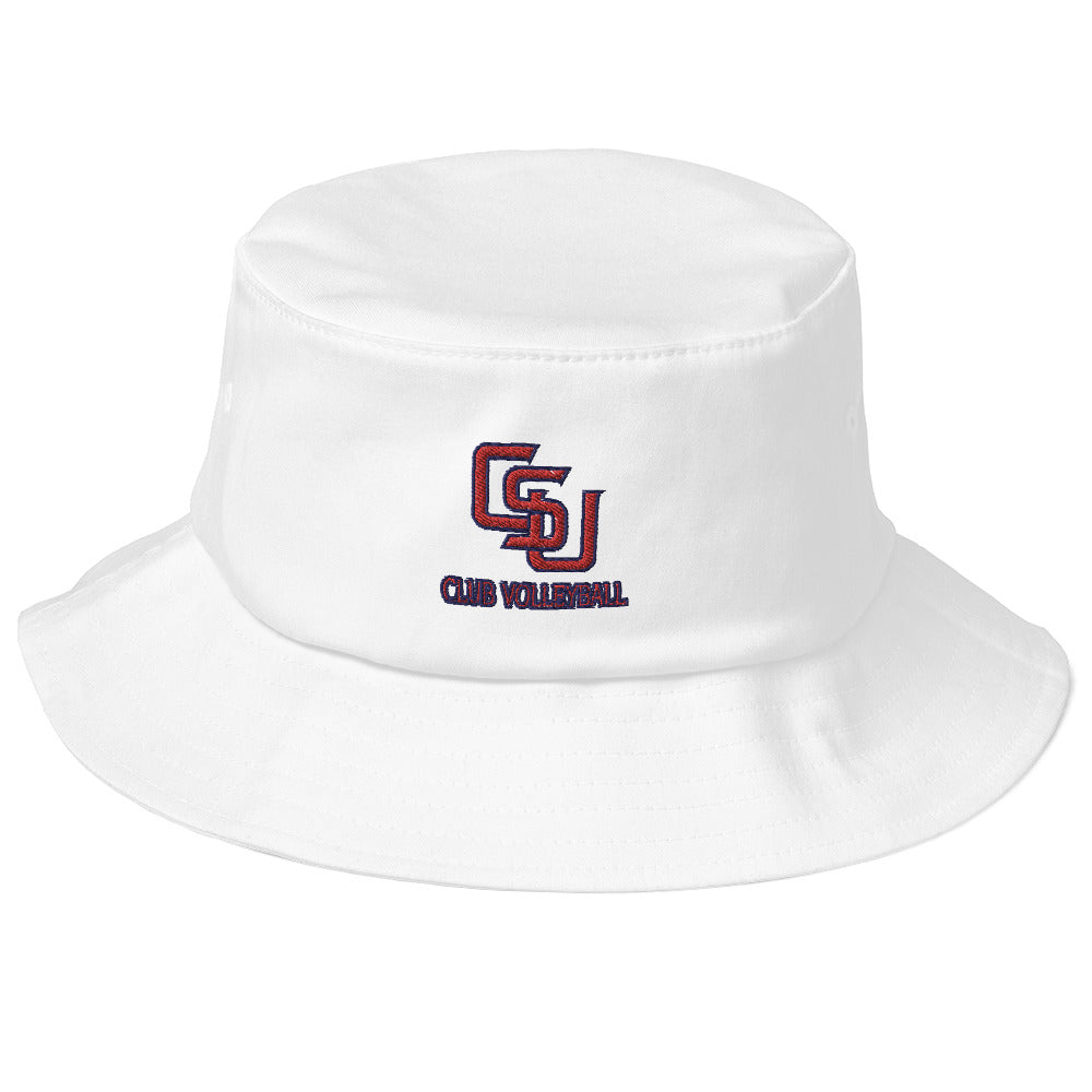 CSU Club Volleyball Old School Bucket Hat