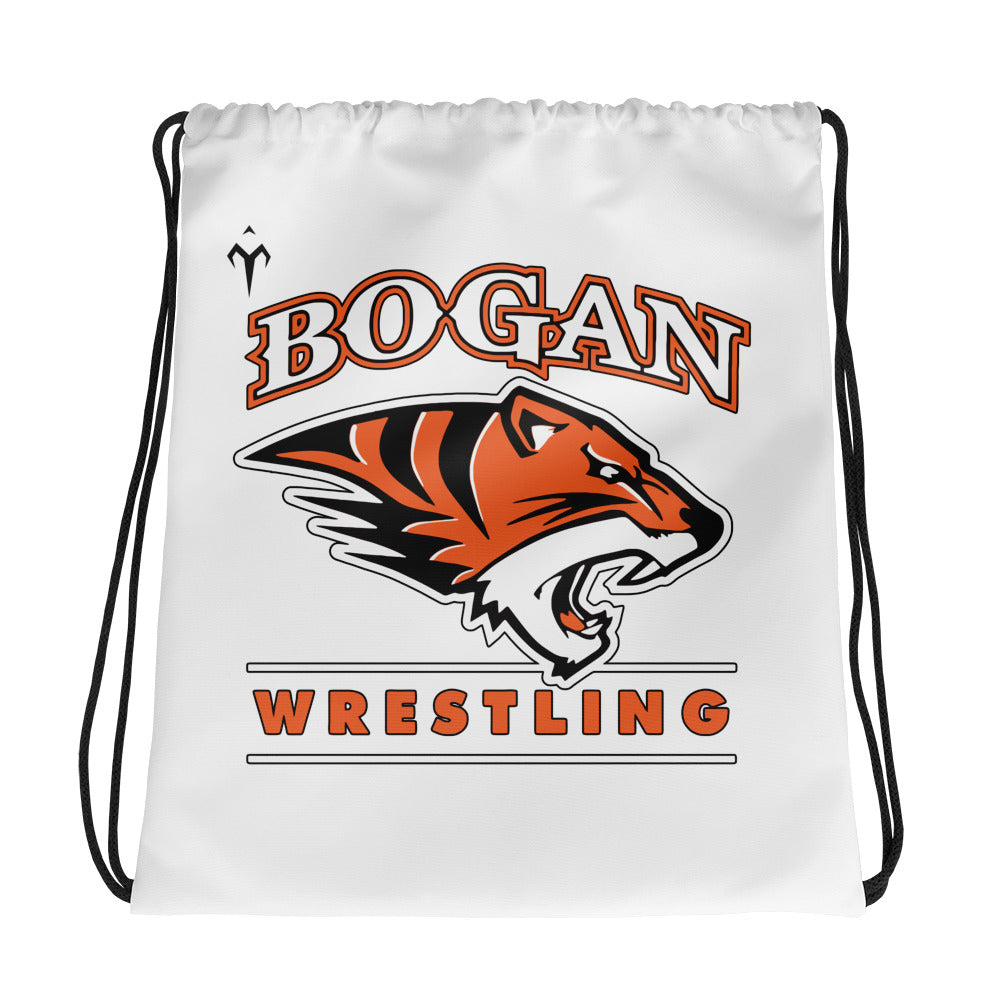 Brogan Wrestling Drawstring bag