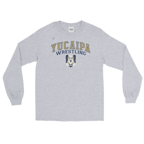 Yucaipa Wrestling Men's Long Sleeve Shirt