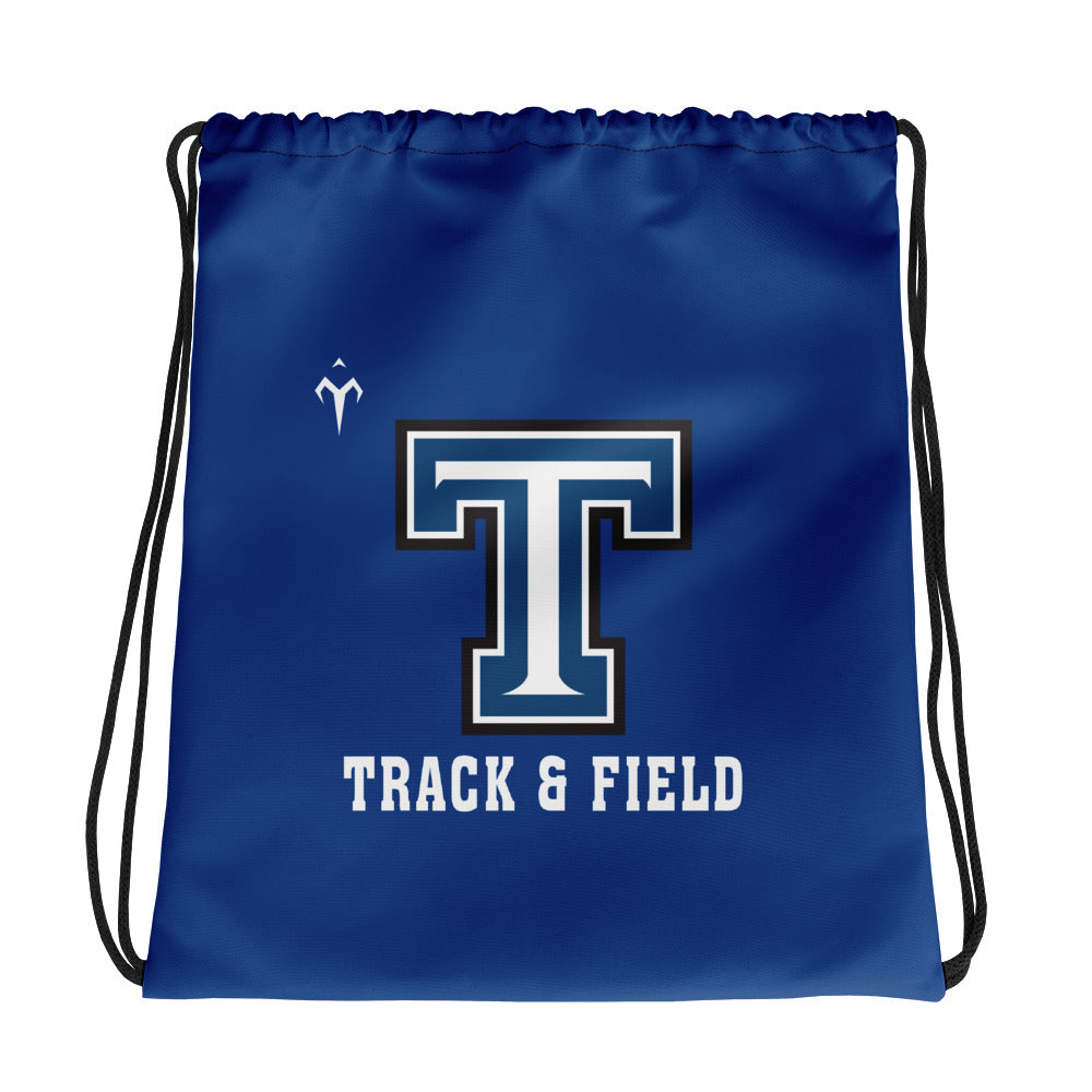 Tempe High School Track and Field Drawstring bag