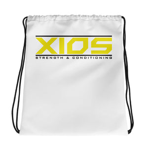 XIOS Strength & Conditioning Drawstring bag