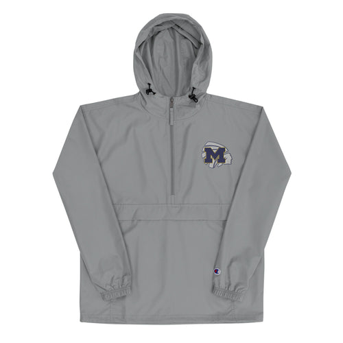 Meridian High School Basketball Embroidered Champion Packable Jacket