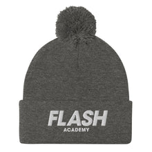Flash Academy Basketball Pom-Pom Beanie