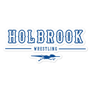 Holbrook Wrestling Bubble-free stickers