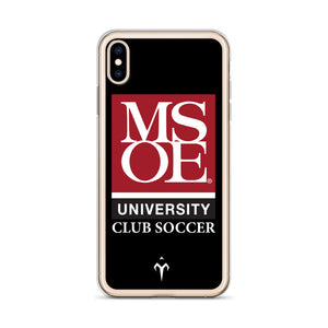 MSOE Club Soccer iPhone Case