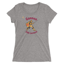 Gannon LAX Ladies' short sleeve t-shirt