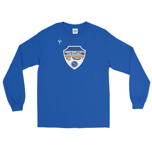 Montana State Club Volleyball Men's Long Sleeve Shirt