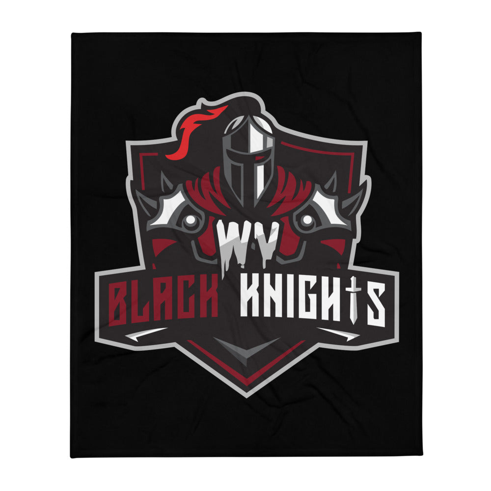 West Virginia Black Knights Throw Blanket