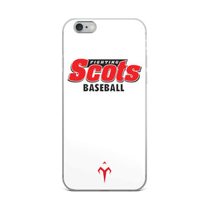 Fighting Scots Baseball iPhone Case