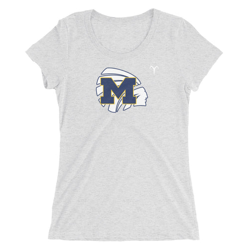 Meridian High School Basketball Ladies' short sleeve t-shirt
