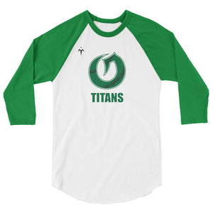 Olympus Softball 3/4 sleeve raglan shirt