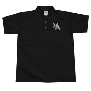Venture Academy Track and Field Embroidered Polo Shirt