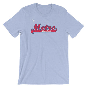 Metro Baseball Short-Sleeve Unisex T-Shirt