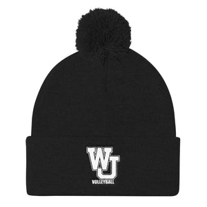 West Jordan Volleyball Pom Pom Knit Cap