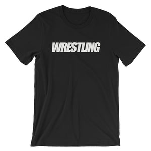 Wrestling Unisex short sleeve t-shirt