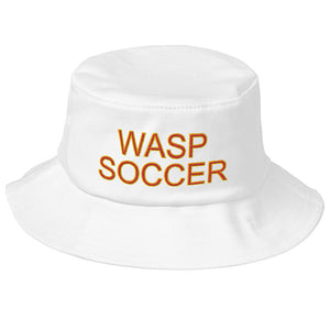 Wasp Soccer Old School Bucket Hat