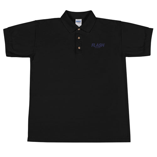 Flash Academy Basketball Embroidered Polo Shirt