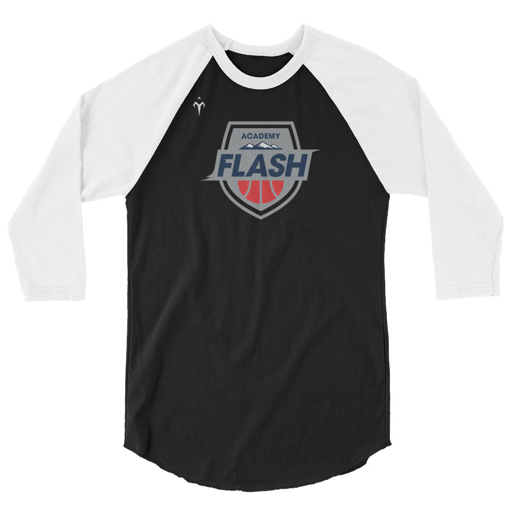 Flash Academy Basketball 3/4 sleeve raglan shirt