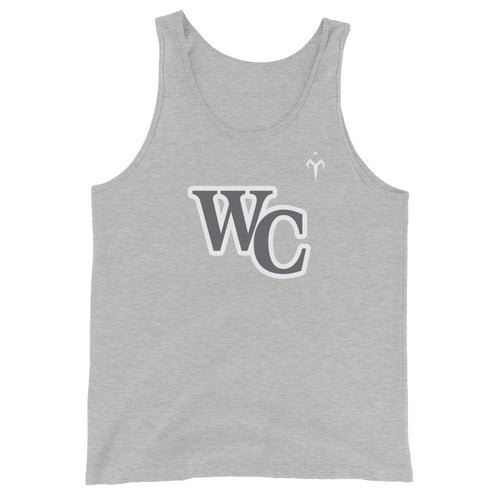 WC Lady Cougars Softball Unisex Tank Top