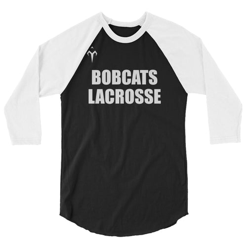 MSU Men's Lacrosse 3/4 sleeve raglan shirt